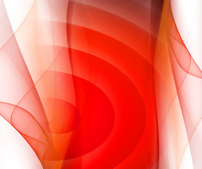 Red smooth twist light lines background