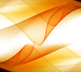 Wave Abstract Orange background