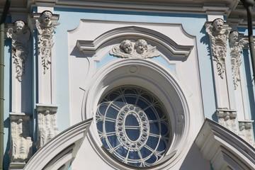 Окно Храма Воскресения Христова (Смольного Собора), С-Петербург