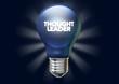 Thought leader light bulb