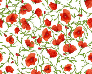 flower ornamental seamless background