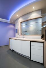 Sink in dental office