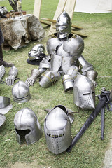 Armor medieval weapons