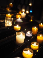 bougies d'église