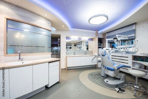 Leinwandbild Motiv Dental clinic interior design