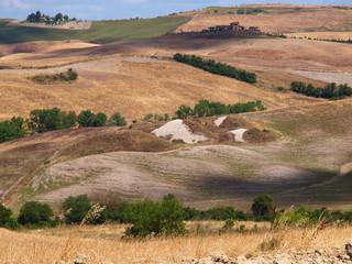 Toscana - Hügellandschaft bei Volterra