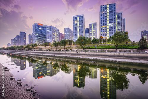 Foto op Aluminium Beijing Beijing, China CBD Skyline