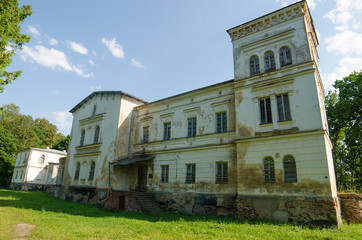 State-owne manor in Belvederis, Lithuania