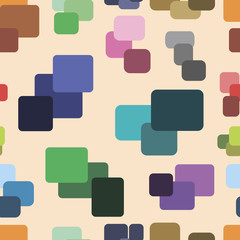 Seamless texture with color squares