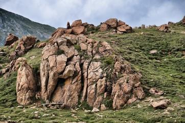 Roccia di montagna