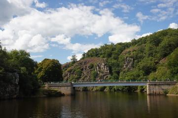 Pont au dessus de la Creuse