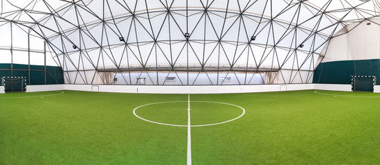 indoor football hall