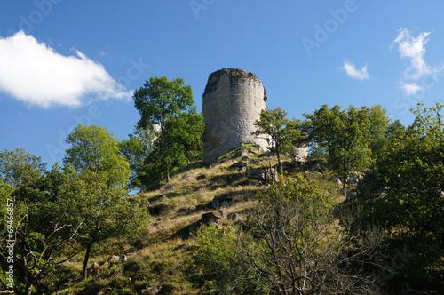 Papiers peints Ruine ruines du château de Crozant