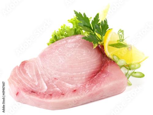 Tuinposter Vis Schwertfisch - Steak