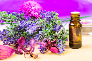 Lawendowy olejek zapachowy