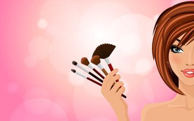 Make up background