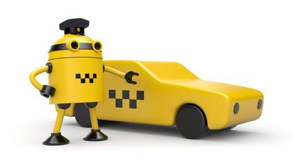 Robot taxi driver
