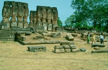 Royal Palace Ruins, Polonnaruwa, Sri Lanka
