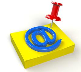 Merkzettel E Mail