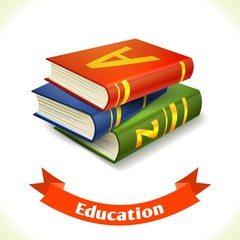 Education icon textbook
