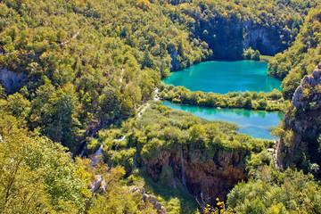 Plitvice lakes national park canyon
