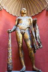 Statue of Hercules in the Vatican Museum