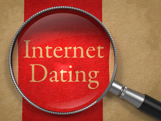 Internet Dating through Magnifying Glass.