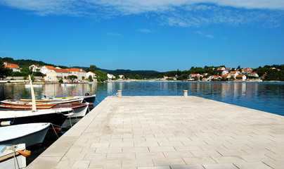 The Harbour in Lumbarda