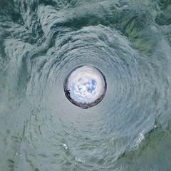 Tunnel aus Wasser