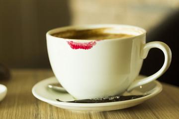 Romantic coffee.