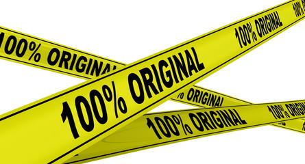 100% оригинальный (origina). Жёлтая оградительная лента