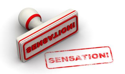 Сенсация (sensation). Печать и оттиск
