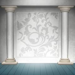 Wand Dekoration