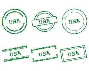 USA Stempel