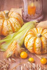Herbst - Hintergrund - Erntedank