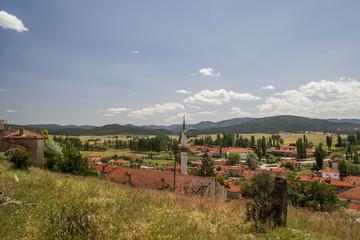 Kumbet village in Eskişehir. Turkish village.