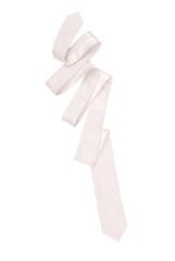 white necktie