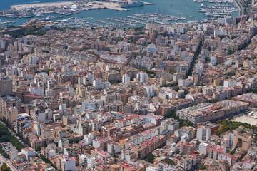 плотная застройка города
