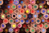 Fototapety Coloured pencils