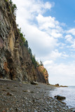 Cliifs of Cape Enrage along the Bay of Fundy poster