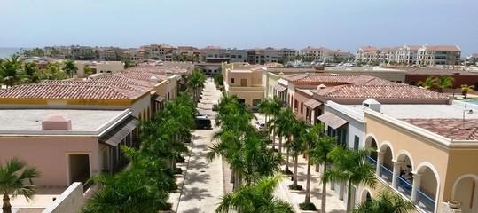 edificios y avenida principal