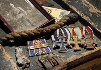 Erster Weltkrieg WW1 Erinnerungen Orden Front