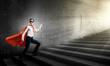 Walking superhero