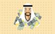 Постер, плакат: Arabian Millionaire