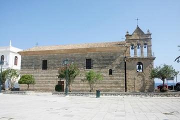 Church Saint Nicholas of Mole in Solomos Square
