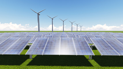 turbine solar cell