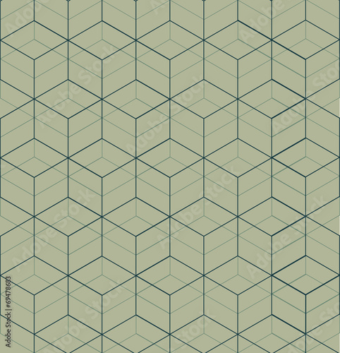 Aluminium Kunstmatig Cubic pattern