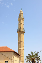 Big minaret of Mahmoudiya Mosque