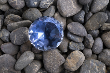 Diamond among pebbles