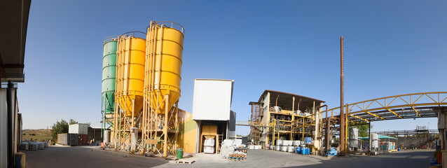 Panorama of chemical plant